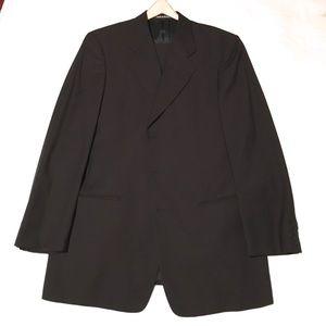 Giorgio Armani Wool Suit Black 40R